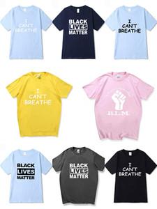 I Cant Breathe Klassisches Tricolor T-Shirt Kurzarm Net Red Stree Shortsleeved Paar Students Herren Designer-T-Shirts Hoodie # 534