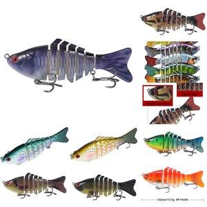 krTbb # 5555 crevettes Luya douce lumineuse bionique fausse pêche baitset calmars appât lumineux appât Blackfish