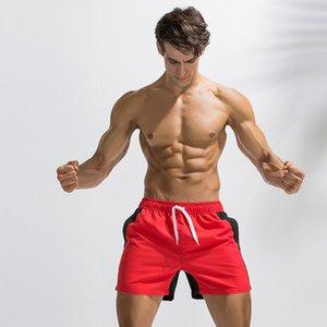 Deenyt Cross-Border Hot Summer Moda de correspondência de cores soltas Juventude e além do tamanho de calças esportivas Shorts Cinco praia do ponto