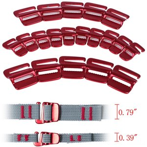 10Pcs Portable Hiking and Camping Camping & Hiking Backpack Fast Binding Buckle Luggage Package Tightening Buckle Tent Rope Tensioner Hook O