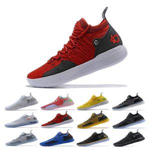 Venta KD 11 zapatos de baloncesto baratos ICE EP Blanco Naranja espuma rosa paranoide Oreo original Kevin Durant XI KD11 para hombre de las zapatillas de deporte Formadores