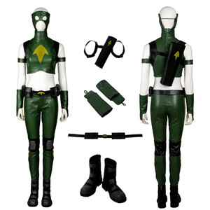 Tigresse Costume Young Justice Cosplay Artemis Crock haute qualité Ensemble complet
