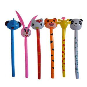 Nueva tigre de dibujos animados conejo inflable en animales a largo Hammer no herida palillo de los niños del bebé regalo de los juguetes de los niños
