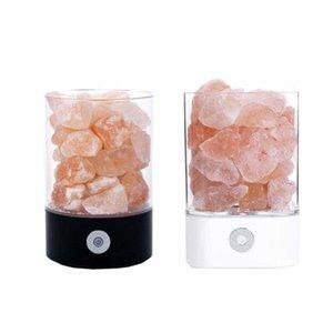 Nachtlichter Kristallsalzlampe Natürliche Luftreinigungs Dimmbare Rosa Salt Rock Farbwechsel Nachtlicht