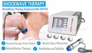 2018 nueva onda de choque portátil para terapia de tratamiento de alivio del dolor Dispositivo de ondas de choque extracorpóreas