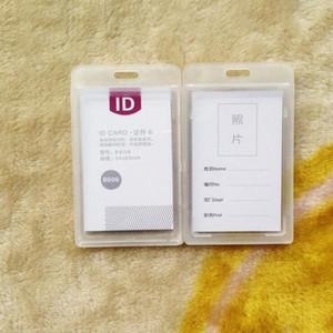 porte-cartes de visite en plastique New Durable Dur IPX 3 porte-badge imperméable ID nom de l'employé Étiquette multi couleurs