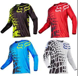 FOX descente vêtements 2020 nouveau costume chemise séchage rapide combinaison de course de moto hors route été chemise à manches longues vélo de montagne longue sl