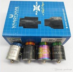Neueste VandyVape Puls X BF RDA Klon Austauschbare Tropft Zerstäuber Vape Vapor Vertikale Build Deck Für 510 Thread Box Mods Hohe Qualität