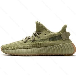 Kanye West V2 Sulfur FY5346 Men Women Running Shoes Eliada Asriel Abez Cinder Flax Israfil Linen Marsh Designer Sports Sneakers