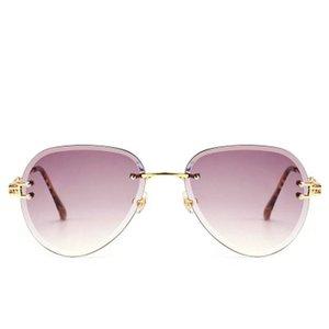 Colorful Gradient Sunglasses Colorful Gradient Changeable Lens Uv Sunscreen Men Women Colorful Gradient Factory Sales Associate bwkf TiaLs