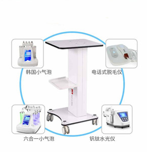 ABS Schönheitssalon Trolley Salon Verwendung Rollwagen aus Aluminium für Hydro Ständer Peel RF Cavitation Laser IPL-Maschine