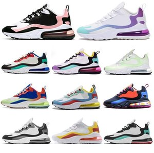 Atacado Reagir dos homens do desenhista Running Shoes 2019 Mulheres Casual Air Cushion BAUHAUS OPTICAL Triplo Preto hiking Sports Sneakers 36-45