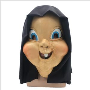 2019 nova máscara facial um jogo foto vestindo rosto látex chapelaria evitar o dia feliz frete grátis