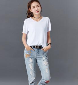 Short Sleeve T shirt Women's 2020 Clothing Casual Ladies Autumn Winter Tees Plus Size Gray Sexy T-shirt Women