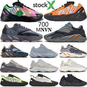 Erkekler Basketbol ayakkabı Programı Siyah Vanta Dalga Koşucu 700 OG Kanye West tasarımcı ayakkabı mens bayan Tephra Atalet Analog Geode sneakers