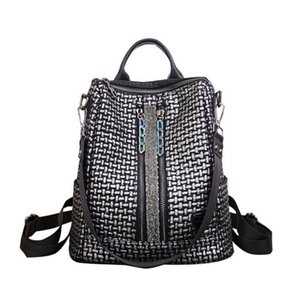 Nesitu Split Leather Women's Backpack Female Girl Backpacks Lady Travel Bag Shoulder Bags High Quality Vintage M7006