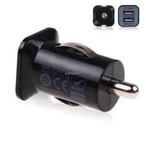 Usb USAMS del cargador del coche 3.1A Dual Puerto 2 Puerto Cargadores de coche para iPhone 11 Pro Max Samsung S20 Ultra GPS Mp3 Altavoz