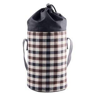 Zugseil Ice Bundle Tasche kariertes Tuch Geschmorte Kettle-Hülsen-bewegliches Thermostasche mit verschiedenen Farben-Qualitäts-4bg J1