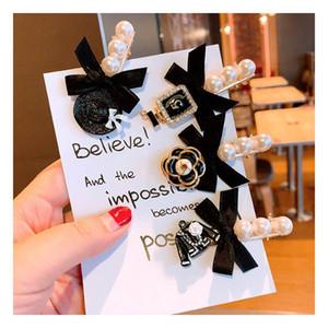 pinces à cheveux perle fleur filles Boutique pinces à cheveux designer princesse accessoires pour cheveux design pour femme clips BB barrettes