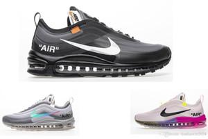 nike air max 97 off white vapormax Flyknit Utility scarpe di lusso Un uomo donna Flyline Sport Scarpe da skateboard Sneaker alta da ginnastica bianca nera Sneakers all'aperto