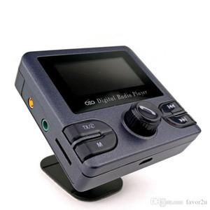 "Auto DAB / DAB + Digitalradio Tragbarer Bluetooth FM Transmitter 2,4 ""TFT-Bildschirm Car Kits - TF-Karte MP3-Player"