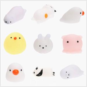 16pcs Yumuşak Sevimli Mini Hayvan Antistres Topu Squeeze Oyuncaklar Stres Giderici Squishy Oyuncak Sabit Evcil Eğlenceli Hediye eleyin Rising