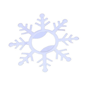 Argent flocon de neige décapsuleurs nuptiale de mariage de douche Favors Winter Party Supplies anniversaire Décor de table Fournitures EEA832