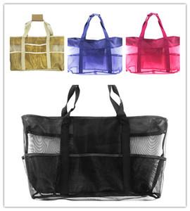 Handbags Women Bag Travel Bags E22809 Outdoor Kid Shoulder Beach Tote Storage Mum Summer Organizer Large Shopping Mesh 38*69cm Multifun Tkut