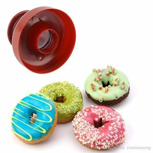 Donut Donut Cutter stampista per i dolci Dolci da forno cottura torta del biscotto della muffa della muffa del silicone della cucina Dessert Strumento