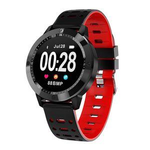CF58 Smart Watch кровь кислород кровяное давление монитор сердечного ритма смарт наручные часы фитнес трекер Спорт напоминание браслет для iPhone Android