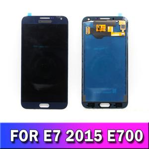 LCD İçin Samsung Galaxy E7 E700 E7000 E7009 E700F E700H E700M TFT Ekran, Dokunmatik Ekran Digitizer Değiştirme Parlaklık Temin ayarlayın