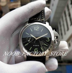 Fabrikverkäufe 1950 Serie 8DAY Lederband Super Mechanische Automatische Bewegung Power Reserve Fashion Diving Herren Uhren Original Box