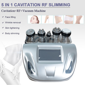 New 5 In 1 Ultrasonic Cavitation RF Vacuum Radio Frequency Cellulite Removal Slimming Machines Weight Loss
