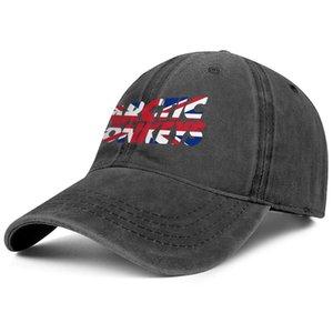 Arctic-Monkeys-The-Indie-Rock-uk-flag noir casquettes de baseball en denim pour hommes et femmes design équipé golf golf cool mode baseball cute persona élégant