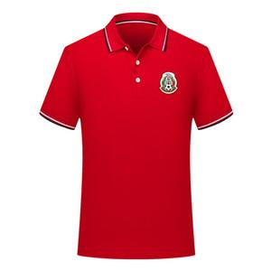 nova camisa polo futebol polo ocasional camisa de futebol POLOS manga curta lapela de 2020 México Homens camisa de treinamento da equipe nacional camisa polo de Men
