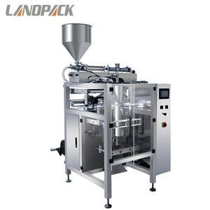 Sachet Stick Máquina de envasado de líquidos Oyster Semilla de sésamo Aceite Sauce Bolsa Máquina de embalaje para productos líquidos