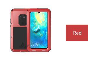Для Huawei mate 20 pro lite LOVE MEI Shock грязь доказательство водонепроницаемость металлическая броня чехол для телефона Huawei P20 pro lite E3