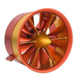 JP120mm EDF ventilateur hélicoïdal à 12 pales hélices RC avion 50V, 142A, 7100W, 9.3KG avec moteur 5060 750KV tout ensemble