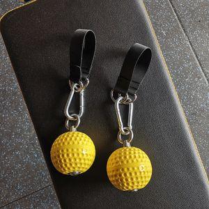 Crossfit Tırmanma barbells Jimnastik Hand trainer strengthener için El Sapları Pull-up Topu Cannonball Sapları Spor Ekipmanları