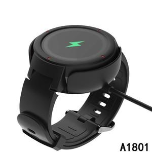 A1801 Charger Cable Para Xiaomi Huami Amazfit 100CM Verge USB rápida doca de carregamento Linha Para AMAZFIT relógio inteligente frete grátis