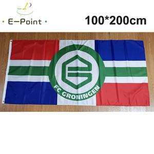 Netherlands Groningen FC Flag All Big Size 3*5ft (90cm*150cm) Polyester flag Banner decoration flying home & garden flag