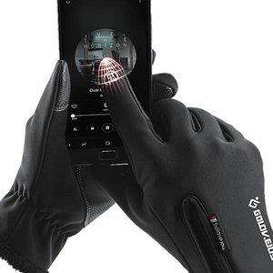 Abbigliamento impermeabile i guanti pieni durevoli esterna antiscivolo traspirante Guanti ciclismo pesca Pesca Guanti 2 colori ZZA924