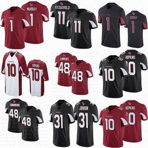 Özel Erkekler Kadınlar Gençlik Arizona10 DeAndre HopkinsKardinal 1 Kyler Murray 11 Larry Fitzgerald 48 İşaya Simmons Futbol forması