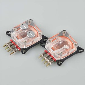 Fancier Computer Transparent Water Cooling Block High Temperature Resistant POM Water Cooling Graphics Card Coolers with Black Copper Bottom