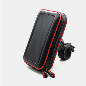 Cell Phone Pouch for Motorcycle Electric Car Cell Phone Mounts Holders for Bicycle Mountain Bike Mobile Phone Waterproof Bags Brackets