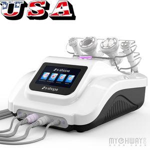 UltrasoundRF EMS Electroporation vácuo 30K cavitação corpo de sucção Cuidados com o rosto Ultrasound cavitação RF corpo máquina de emagrecimento