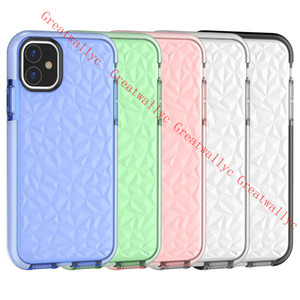 iPhone XI 11 PRO MAX Xs Max XR 7 8 PLUS 7Plus Diamond Coque (iPhoneX iPhone11 2019) 용 고급 실리콘 충격 방지 케이스