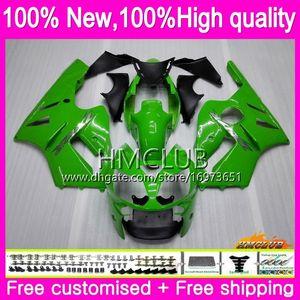 Injection For KAWASAKI ZX1200 ZX 12 R 1200 C CC ZX 12R 00 01 Body 70HM.0231200CC ZX12R 00 01 ZX-12R 2000 2001 OEM Fairing Stock green