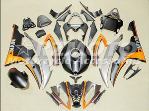 Nuove Carene ABS ad iniezione moto Kit Fit per Yamaha YZF-R6-600 08 2008-2016 09 10 11 12 13 14 15 16 carrozzeria impostati Nero opaco
