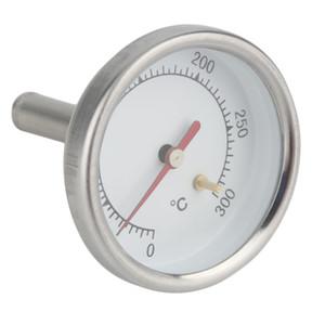 Aço inoxidável Kitchen Dial Forno Sensor Termômetro Food Meat Café Leite Probe Temperature Gauge Cozinha Ferramentas Bakeware